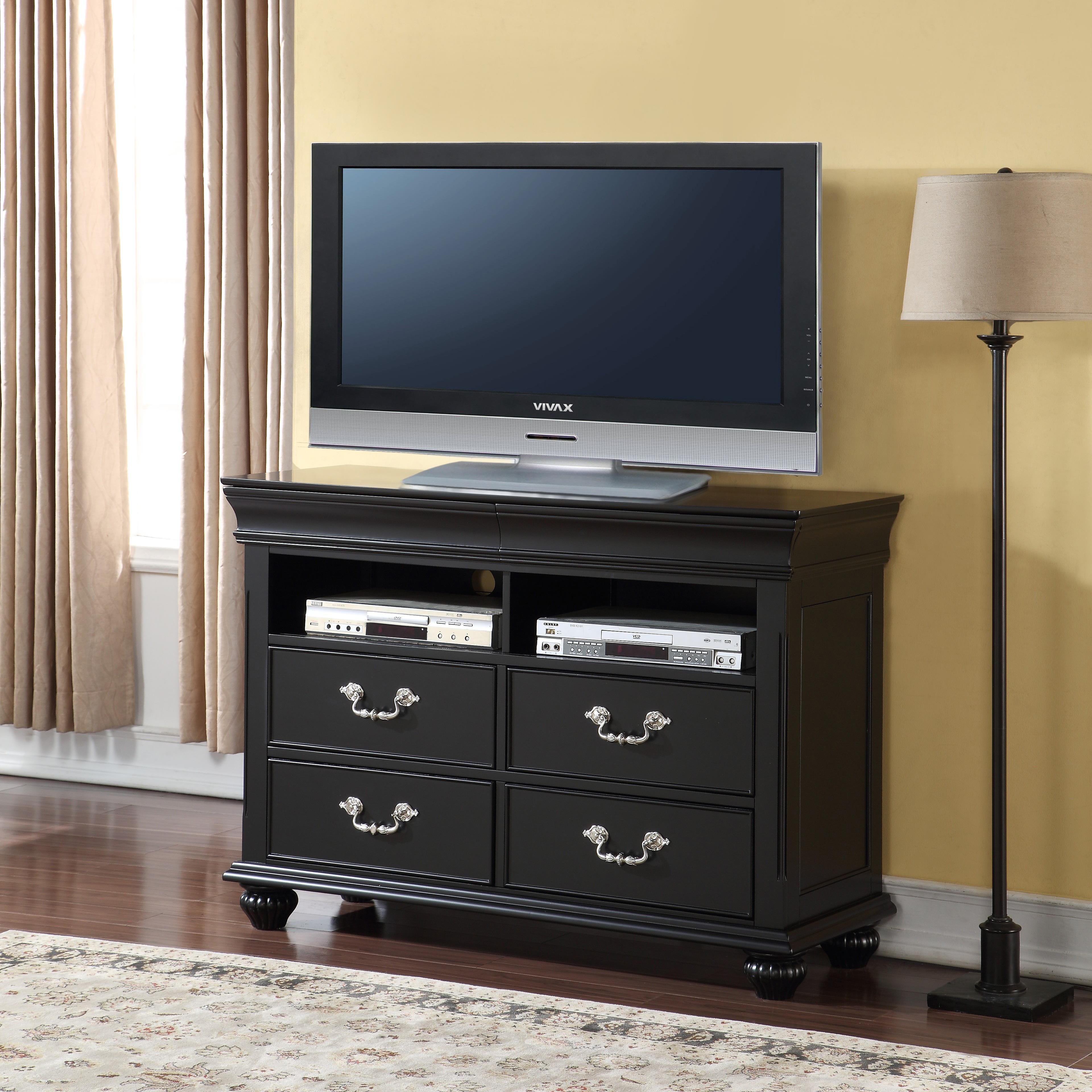 New Classic Jaquelyn Media Console - Item Number: 00-B8650-078