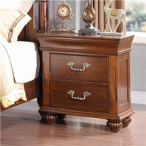 New Classic Jaquelyn Nightstand