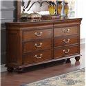 New Classic Jaquelyn 6 Drawer Dresser - Item Number: 00-B8651-050