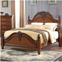 New Classic Jaquelyn Full Poster Bed - Item Number: 00-B8651-410+420+430