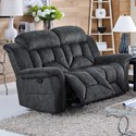 New Classic Jemma Dual Recliner Loveseat - Item Number: 20-2191-20-CGY