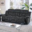 New Classic Jemma Dual Recliner Sofa - Item Number: 20-2191-30-CGY