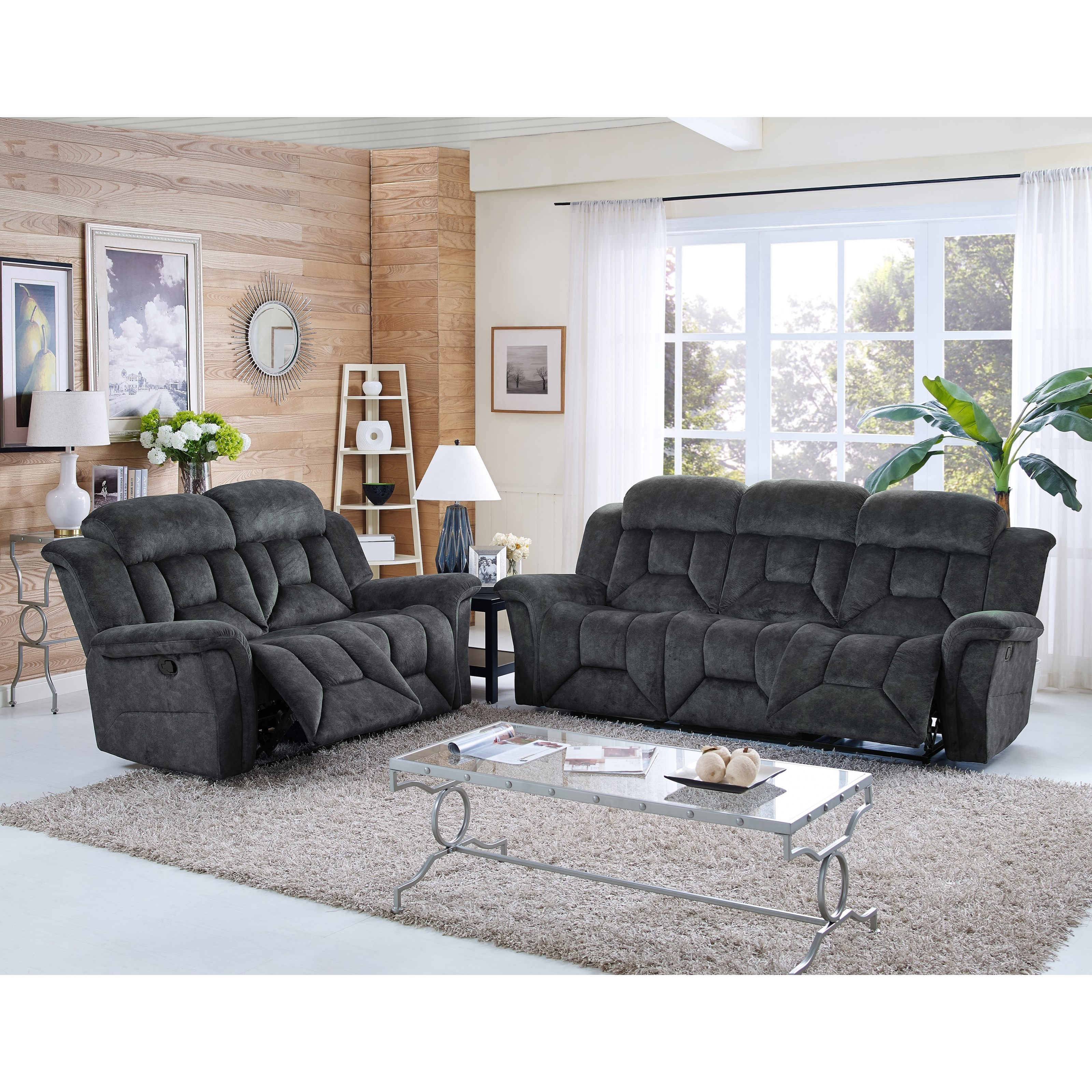 New Classic Jemma Reclining Living Room Group - Item Number: 2191 Reclining Living Room Group 1
