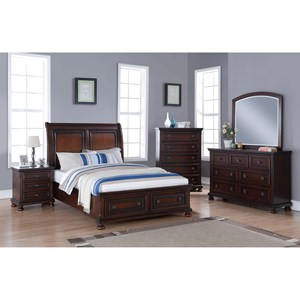 New Classic Jesse Queen Bedroom Group