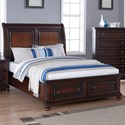 New Classic Jesse Queen Low Profile Storage Bed - Item Number: B3260-310+328+330