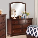 New Classic Jesse Youth Dresser and Mirror Set - Item Number: Y3260-052+062