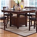 New Classic Kaylee Counter Height Table - Item Number: 45-101-10+B