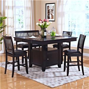 New Classic Kaylee 5 Piece Table Set