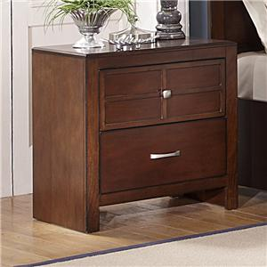 New Classic Kensington 2-Drawer Nightstand