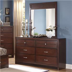 New Classic Kensington Dresser and Mirror Set