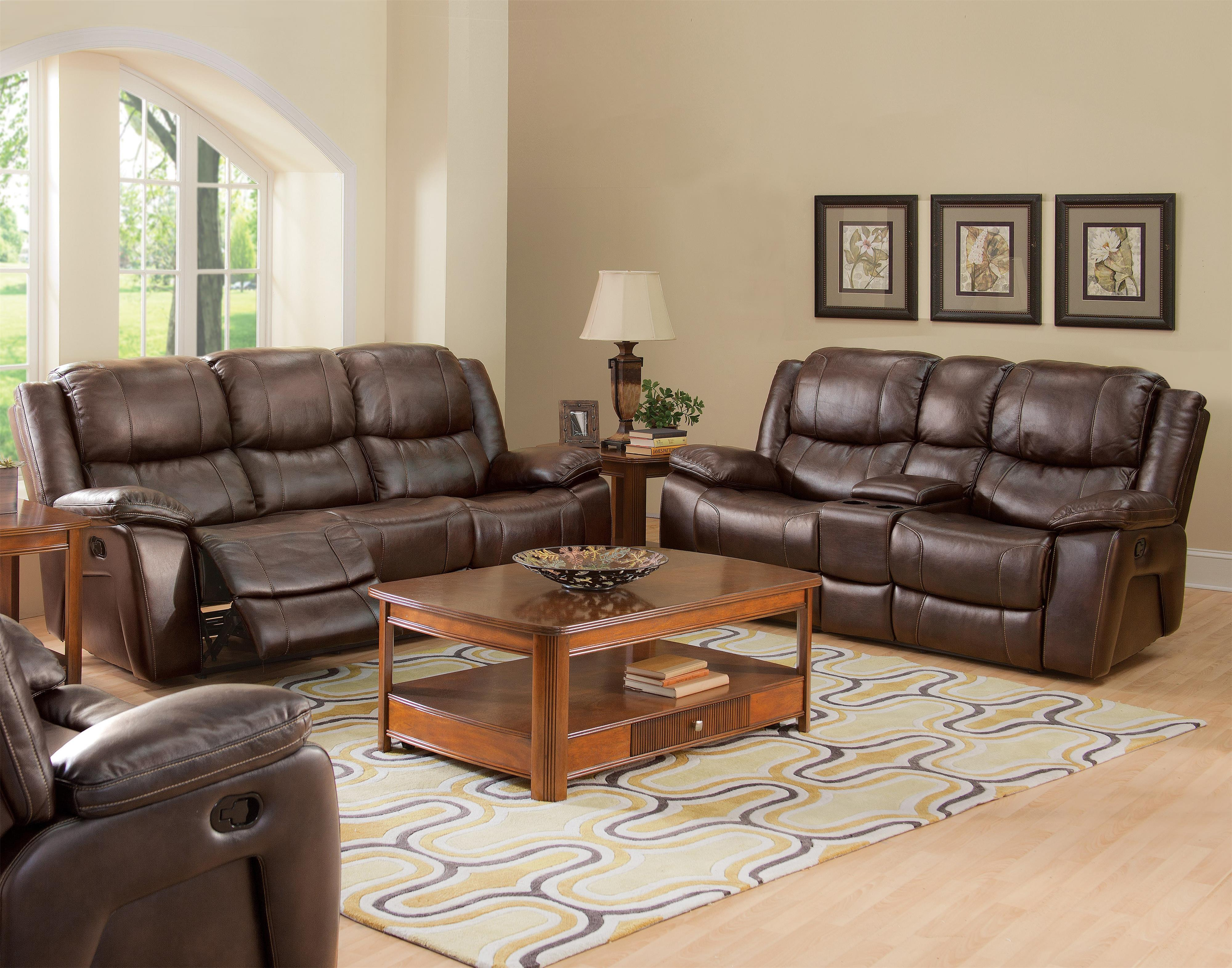 New Classic Kenwood Casual Reclining Living Room Group - Item Number: 245 Reclining Living Room Group 1