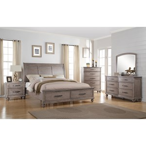 New Classic La Jolla Queen Bedroom Group