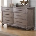 New Classic La Jolla Dresser - Item Number: B1033-050