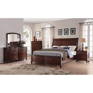 New Classic La Jolla King Bedroom Group