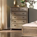 New Classic Lakeport Pewter Chest - Item Number: 00-220-070P