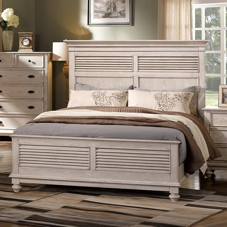 Queen Headboard and Footboard Bed