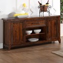 New Classic Lanesboro Dining Console with Removable Wine Rack