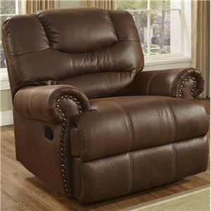 New Classic Laredo Traditional Glider Recliner