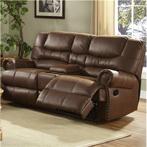 New Classic Laredo Traditional Duel Reclining Love Seat