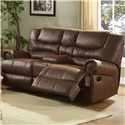 New Classic Laredo Traditional Duel Power Reclining Love Seat - Item Number: 22-395-25-MOC