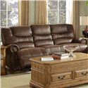 New Classic Laredo Traditional Dual Reclining Sofa - Item Number: 20-395-30-MOC