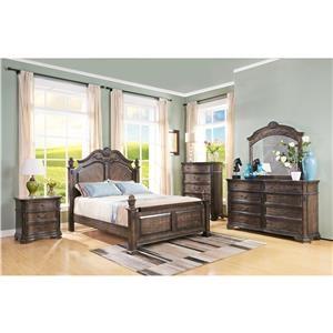 New Classic Larissa Queen 6-Piece Bedroom Group