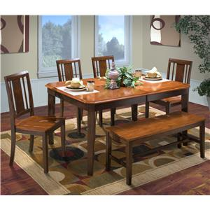 New Classic Latitudes 6 Piece Dining Set