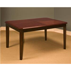 New Classic Latitudes Cut Corner Dining Table