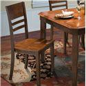 New Classic Latitudes Horizontal Slat Chair - Item Number: 40-150-22T