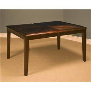 New Classic Latitudes Rounded Corner Dining Table