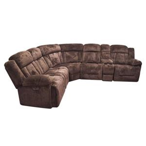 New Classic Maddox Casual Power Reclining Sectional Sofa with P