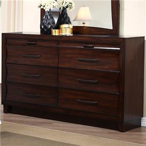 New Classic Lazaro 8-Drawer Dresser