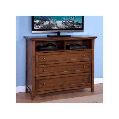 New Classic Logan Media Console - Item Number: 00-100-078