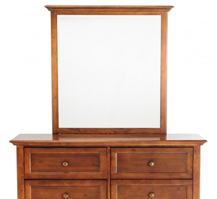 New Classic Logan Youth Dresser and Mirror Set - Item Number: 05-100-052+062