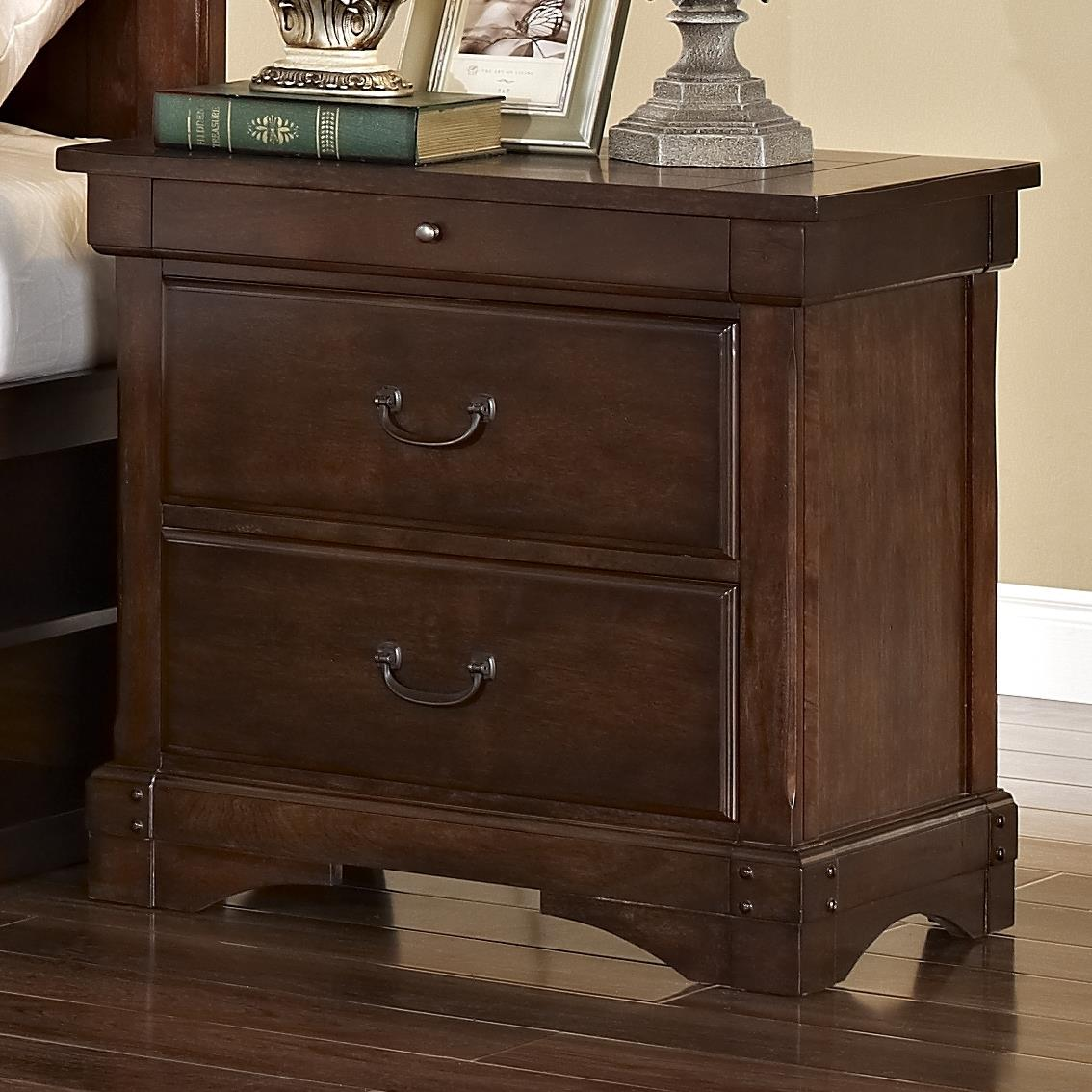New Classic Madera  Nightstand - Item Number: 00-455-040
