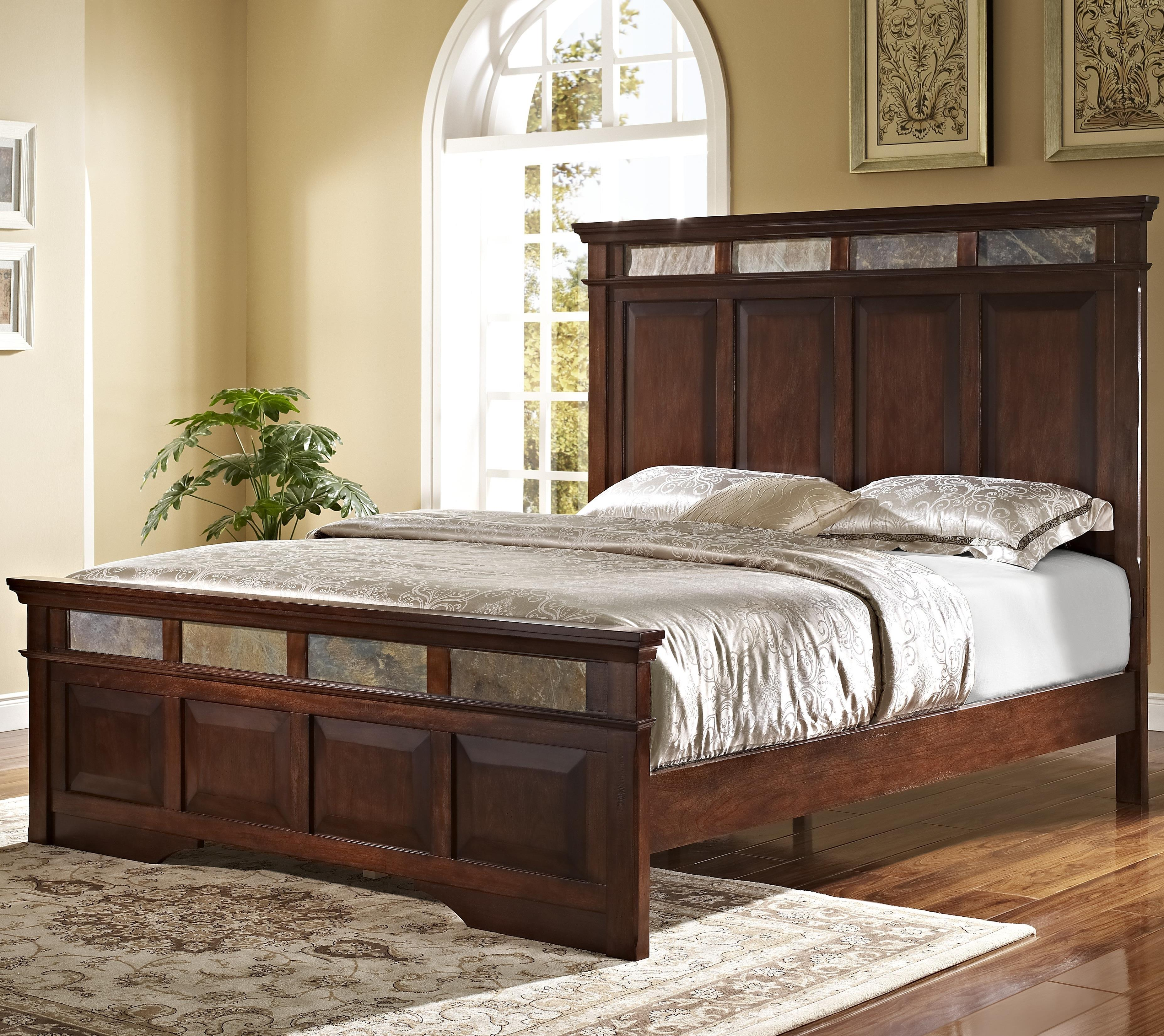 New Classic Madera  Queen Bed - Item Number: 00-455-310+320+330