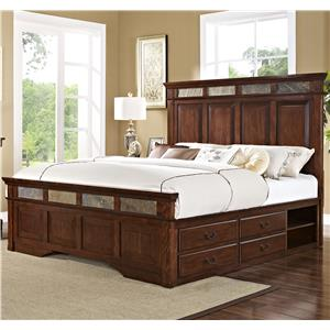 New Classic Madera  Queen Bed with Storage