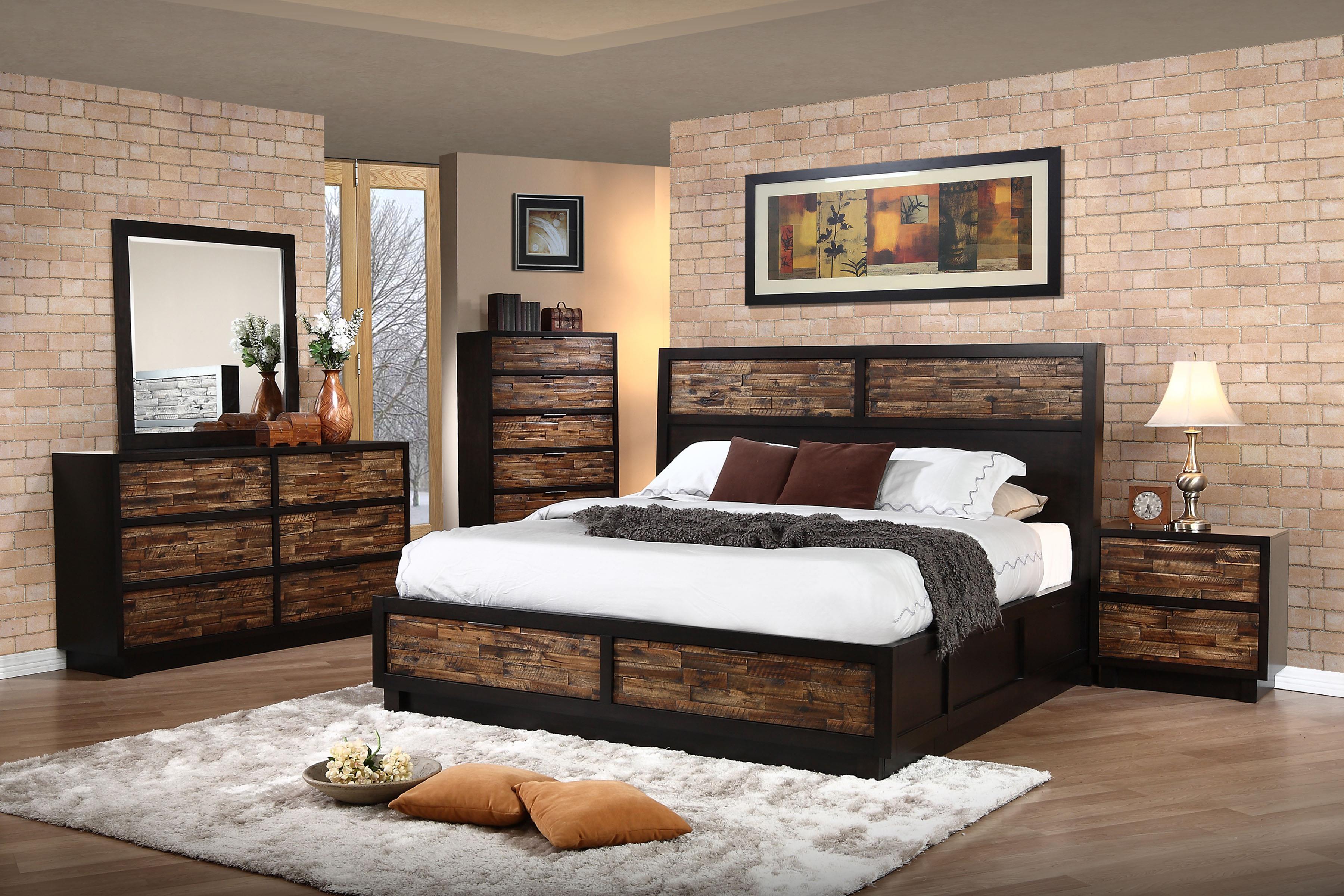 New Classic Makeeda Queen Bedroom Group