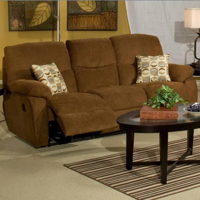 Leather Recliner Sofa Manchester: New Classic Manchester 22-412-32 Dual Recliner Sofa