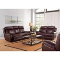 New Classic Mansfield Reclining Living Room Group
