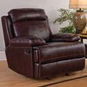 New Classic Mansfield Power Glider Recliner - Item Number: L6807-13P-BBR