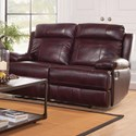 New Classic Mansfield Reclining Loveseat - Item Number: L6807-20-BBR