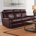 New Classic Mansfield Power Reclining Sofa - Item Number: L6807-30P-BBR
