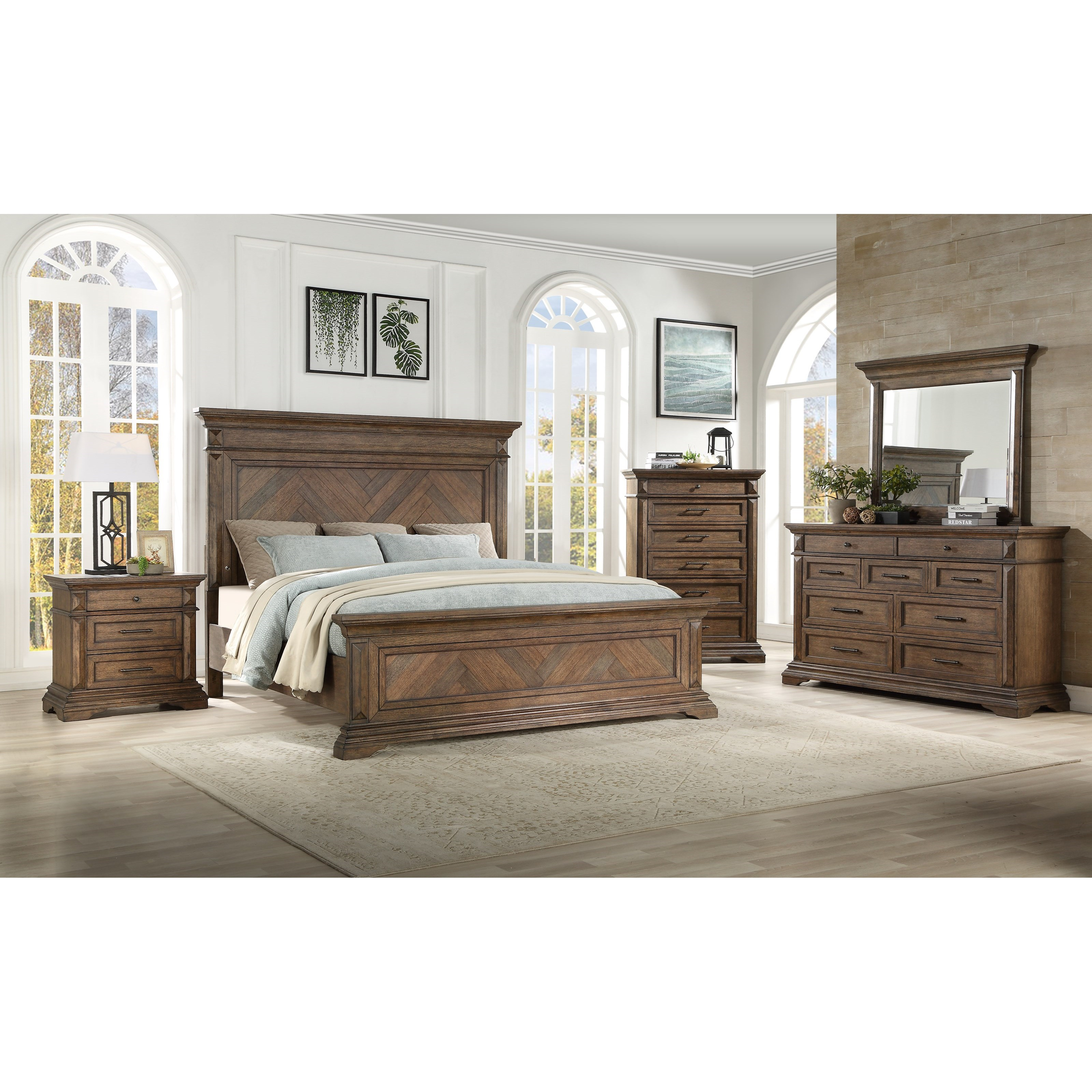 Mar Vista Queen Bedroom Group by New Classic at Wilcox Furniture