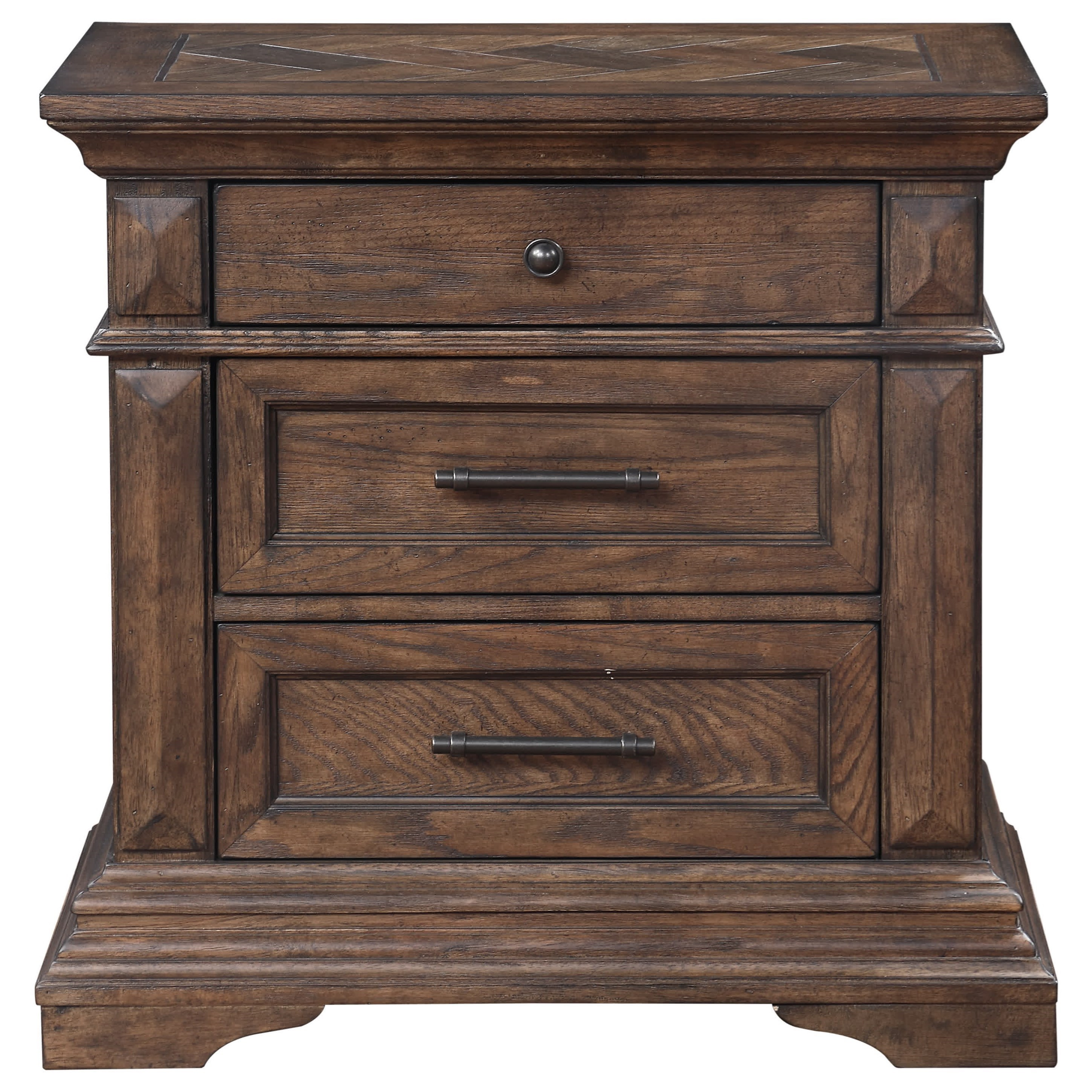 Mar Vista Nightstand by New Classic at Wilcox Furniture