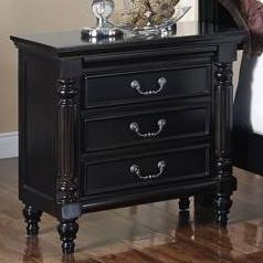 New Classic Martinique Bedroom Nightstand