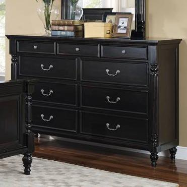 New Classic Martinique Bedroom Dresser  - Item Number: 00-222-050