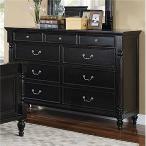 New Classic Martinique Bedroom Dresser