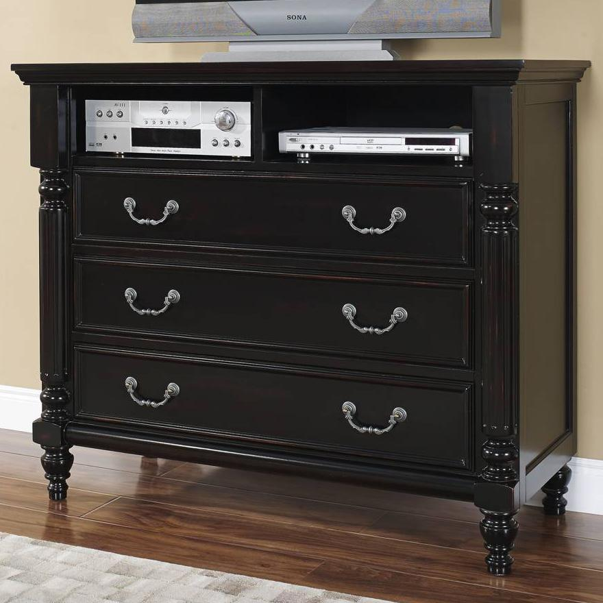 New classic martinique bedroom 00 222 078 transitional 3 for Bedroom media chest