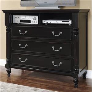 New Classic Martinique Bedroom Media Chest